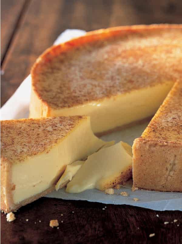 Rhodes's custard tart.