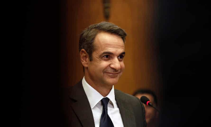 The new Greek prime minister, Kyriakos Mitsotakis, hails from a powerful political dynasty.