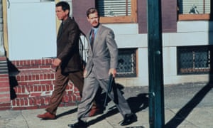 Joe Mantegna and William H Macy in the 1991 film Homicide.