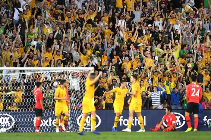 Australia 1-1 South Korea: international football friendly