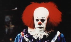 Clowning around ... Will the troubled forthcoming remake of Steven King's It be as good as Netflix's similarly-themed Stranger Things?