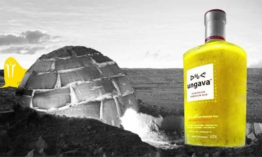 Advert for Ungava gin
