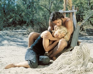 2002: A scene from Swept Away, starring Madonna and Adriano Giannini, directed by Guy Ritchie