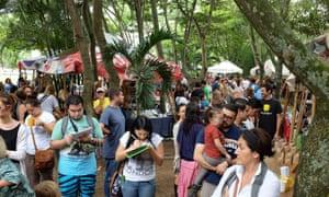 Feria Verde market, San Jose, Costa Rica.