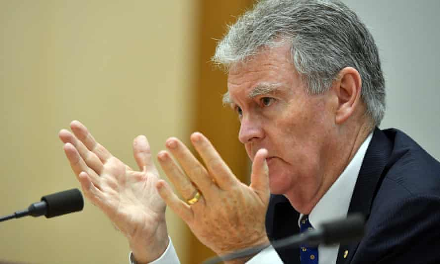 Asio's director general, Duncan Lewis, gives evidence to the intelligence committee