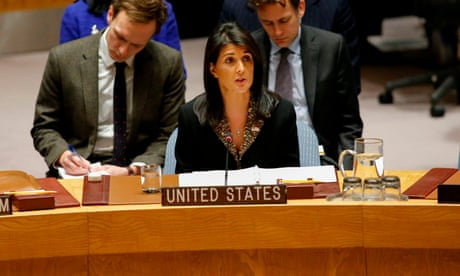 Trump's bullying and bluster on Jerusalem is bad news for the UN