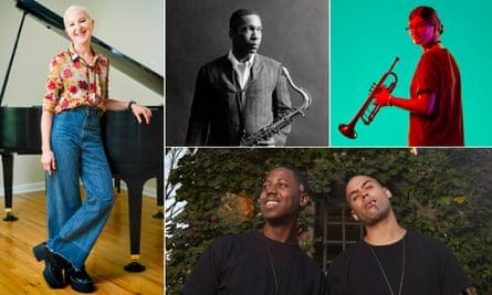The experts … Myra Melford, John Coltrane, Laura Jurd and Binker and Moses