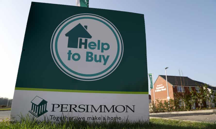 Persimmon signage near Larbert, Scotland