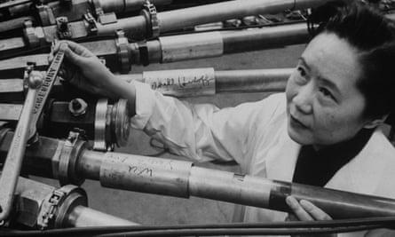 Chien-Shiung Wu at Columbia University.