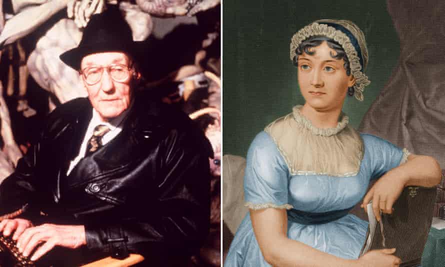 William Burroughs and Jane Austen.