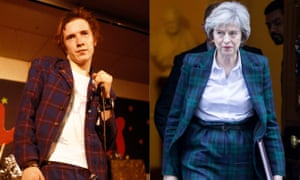 Johnny Rotten and Theresa May – in Vivienne Westwood suits.
