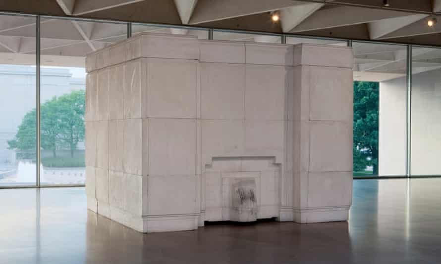 Rachel Whiteread's Ghost, 1990, courtesy of the National Gallery of Art, Washington