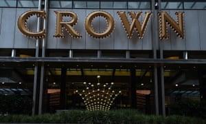 Crown casino in Melbourne