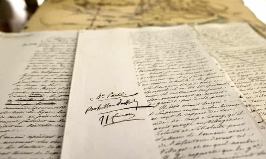 Napoleon Bonaparte's 74-page manuscript is on sale for €1m.
