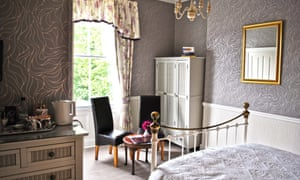 bedroom at The Bloomsbury guesthouse, York