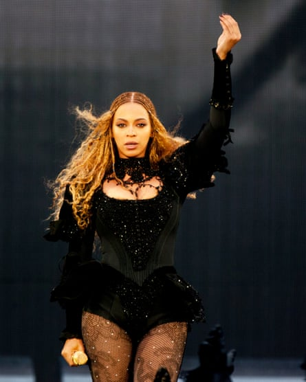 Beyonce performs during the Formation World Tour at Stadium of Light.