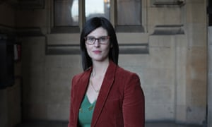 The Lib Dem leadership candidate Layla Moran.