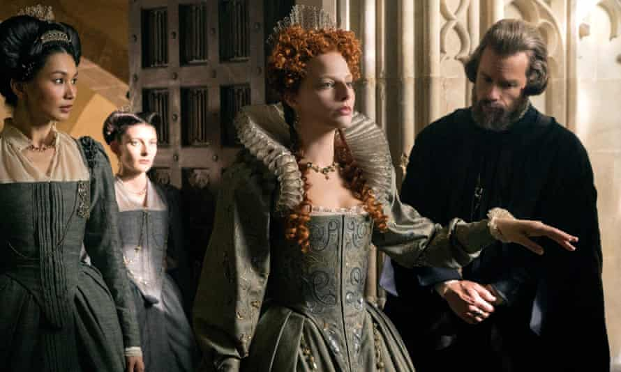 A scene from Mary Queen of Scots depicting Queen Elizabeth I