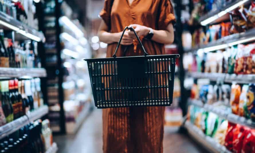 a supermarket shopper