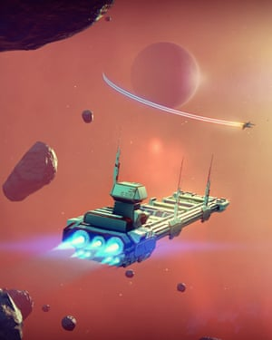 'The run of an unimaginable number of galaxies': No Man's Sky offers a truly open universe.