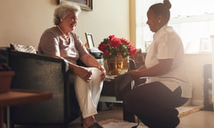 Nearly nine out of 10 home care workers are women, 62% are people of color and 31% are immigrants.