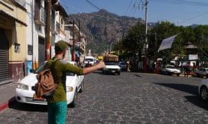 Autostop in Messico