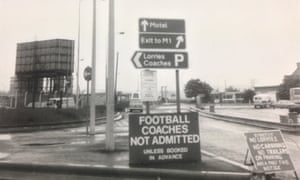 Bad old days … Newport Pagnell in the 1970s.