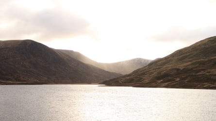 Loch Callater and the Jock's Road pass, Scotland.
