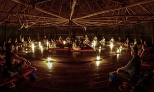 Temple of the Way of Light ayahuasca centre, two hours from Iquitos, Peru
