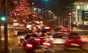 Traffic in Brisbane