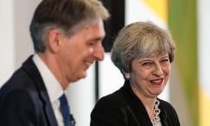 Theresa May and team?