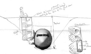 Artist Roger Hiorns' plans to bury a Boeing 737 plane in Birmingham