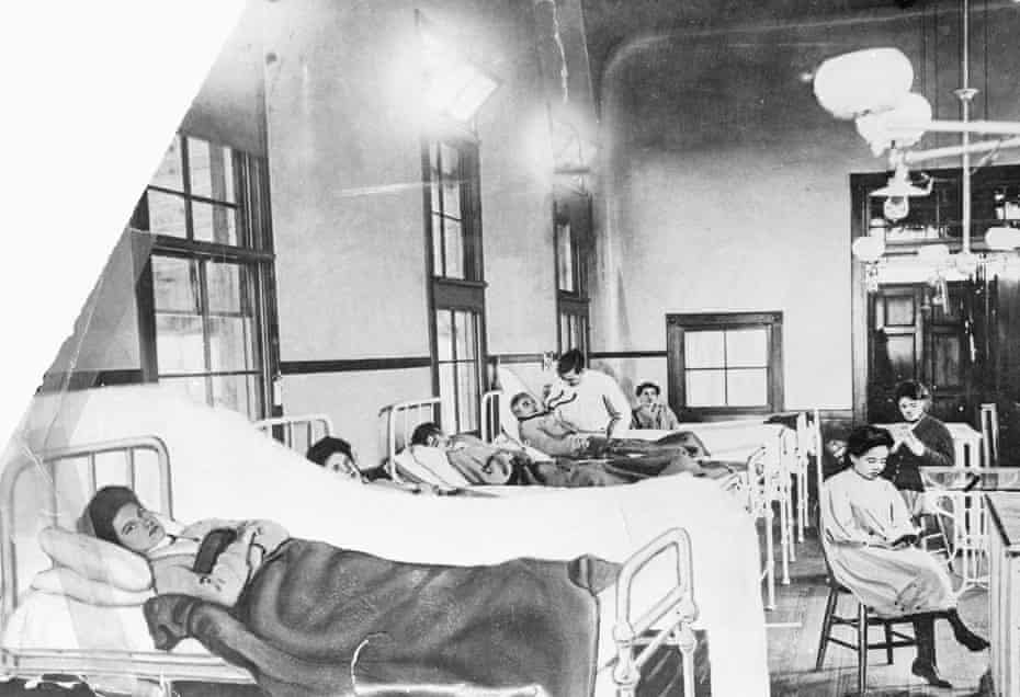 Mary Mallon, known as Typhoid Mary, in a photo circa the 1900s after she was institutionalized on Brother Island, where she stayed from 1914 until her death in 1938.