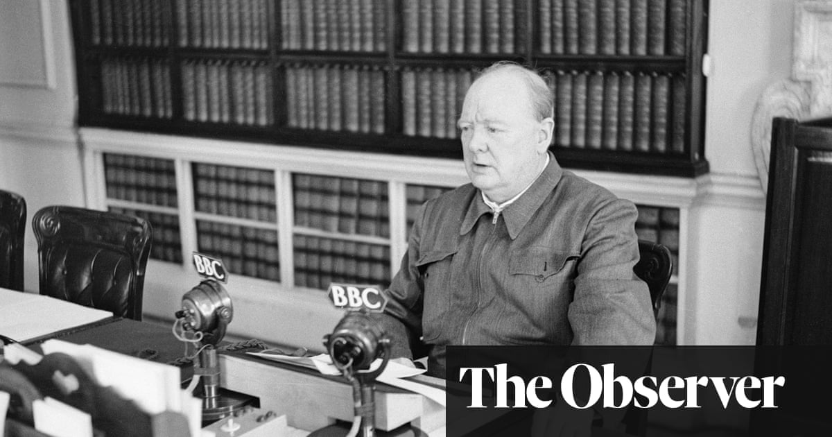 Winston Churchill Makes A Fine Movie Star If Only We Had A Leader
