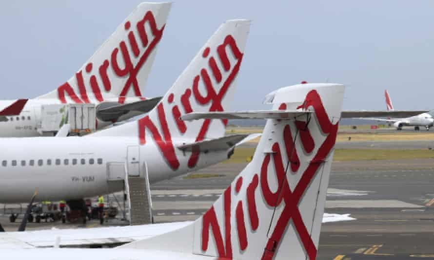 Virgin Australia planes