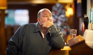 Chris Varnam at the Kingsway pub in Kirkby