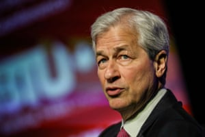 JPMorgan Chase CEO Jamie Dimon speaks an event before the pandemic.