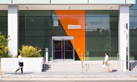 Eventbrite's San Francisco headquarters