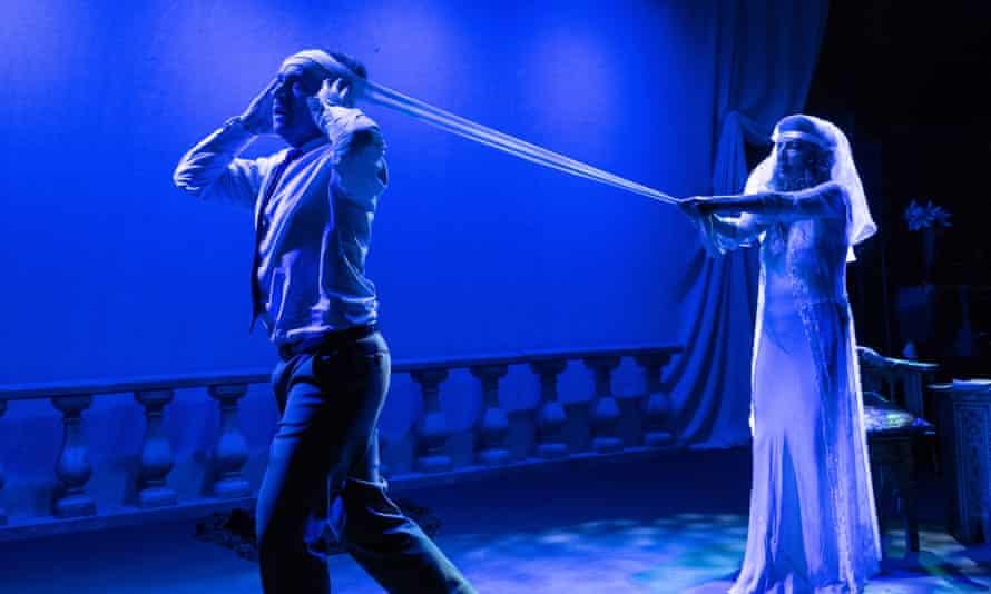 Max Wilson and Naomi Sorkin in Ida Rubinstein - The Final Act.