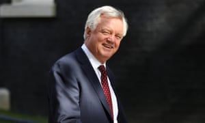 Former Brexit secretary David Davis.