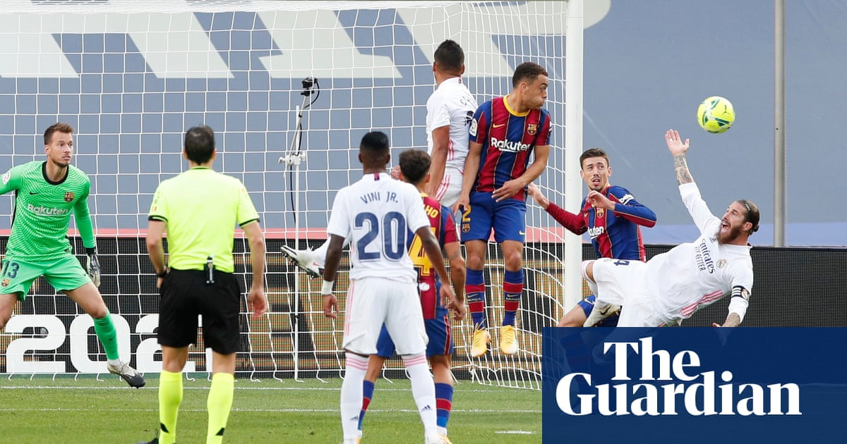 Penalty polémica hides Barças vanishing act as Zidane finds a way | Sid Lowe