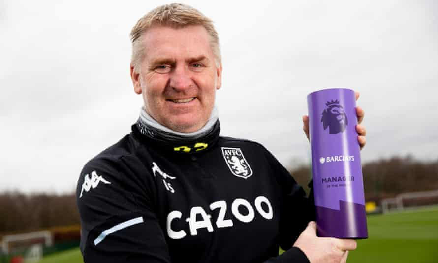 Dean Smith was the Premier League manager of the month for December but Aston Villa's new year has been dominated by a Covid outbreak at the club.