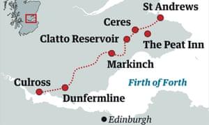 fife pilgrimage map