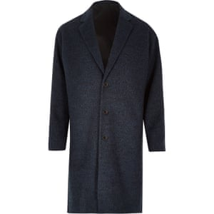 River Island blue coat