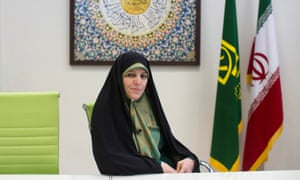 Shahindokht Molaverdi, Iran's vice -president for women's and family affairs