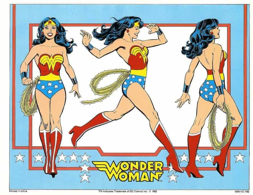 Wonder Woman … the DC comics incarnation.