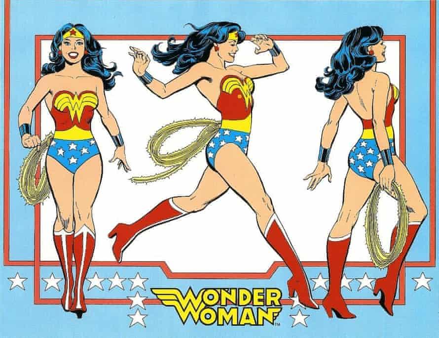 Wonder Woman in 1962.