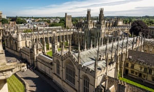 The University of Oxford is part of the Russell Group.
