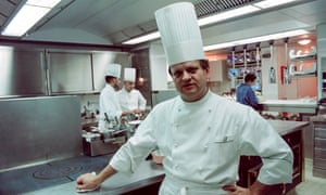 Renowned French chef and mashed-potato obsessive Joël Robuchon.