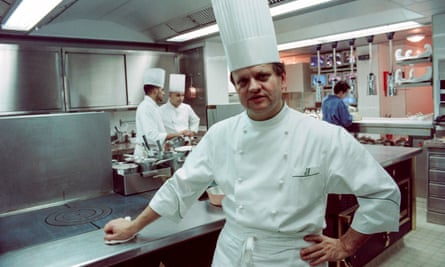 The French chef Joël Robuchon in 1994.